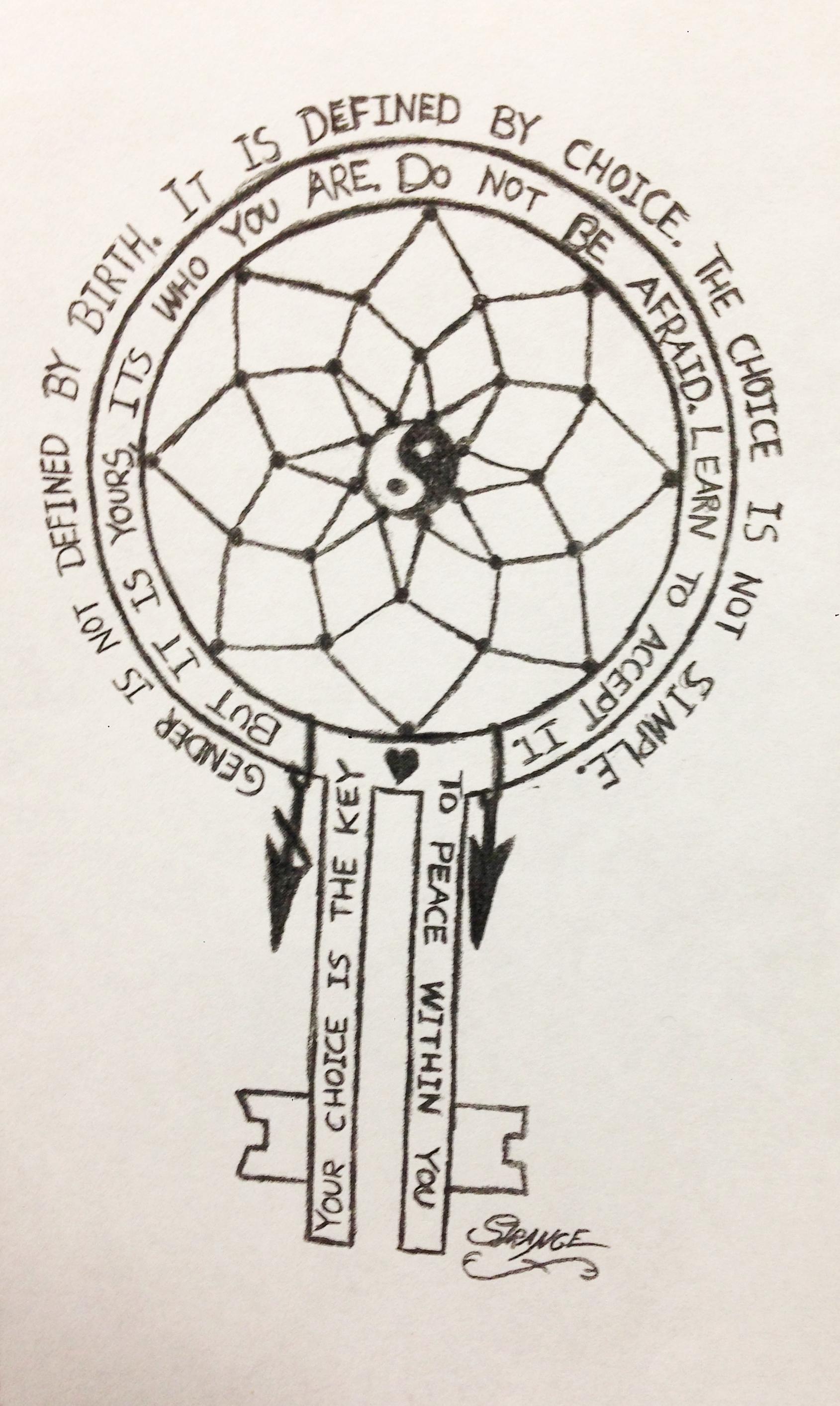 strange's drawing